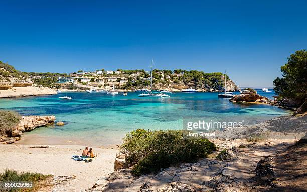 portals vells - majorca stock pictures, royalty-free photos & images