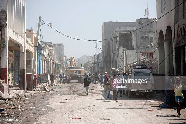 Port-au-Prince after earth quake