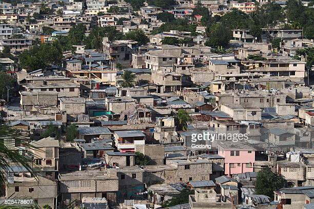Port-au-Prince, capital city of Haiti.