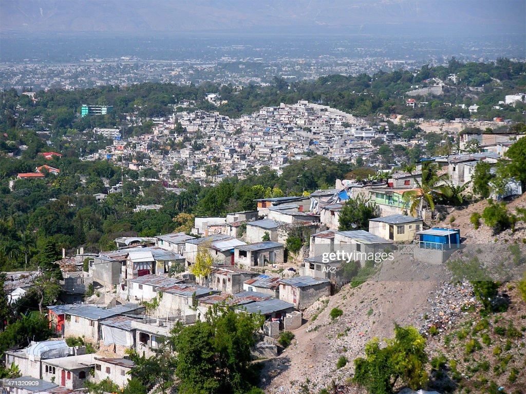 Port-au-Prince cityscape : Stock Photo