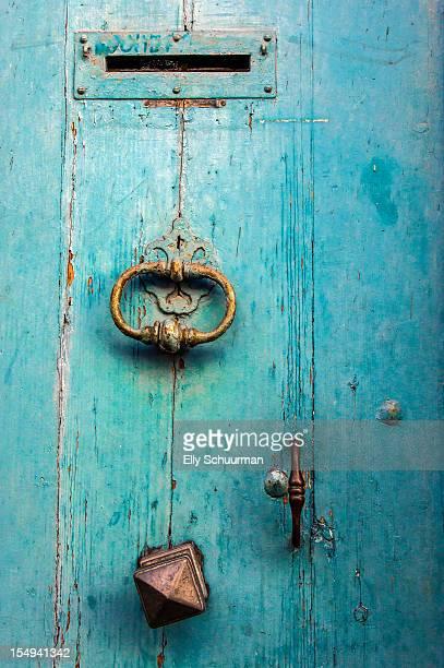 Porte blue