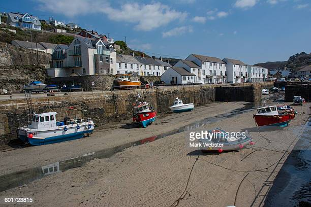 porteath harbour - the webster stock pictures, royalty-free photos & images