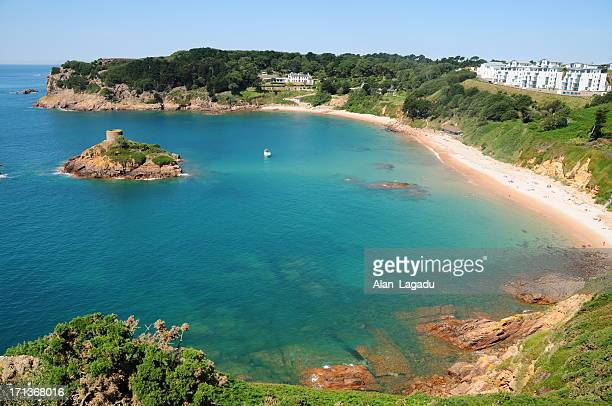 Portelet Bay, Jersey.