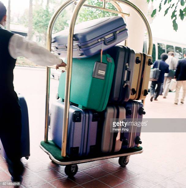 Porter with luggage