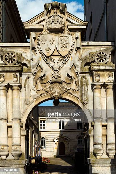 Portes Ars, Compiegne's Town hall,Oise,Picardy,France
