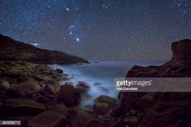 Porth Nanven at Night