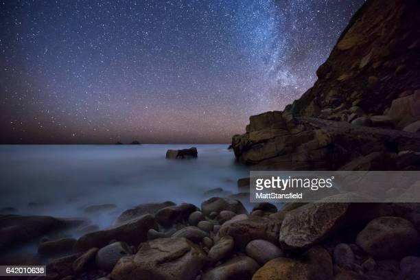 Porth Nanven at Night