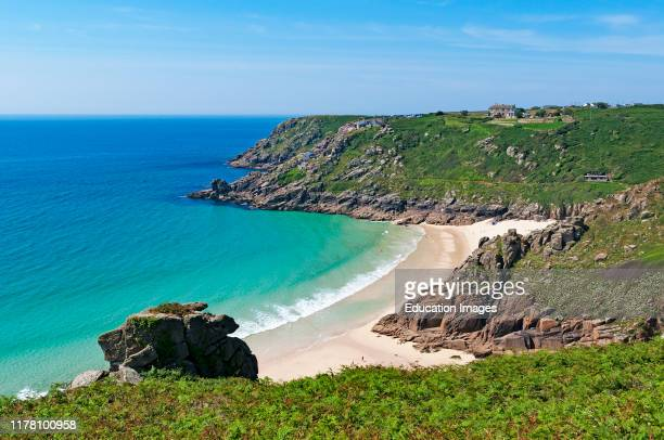porthcurno beach Cornwall England
