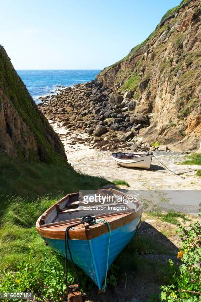 Porthgwarra Cove In Cornwall England Uk This Area Is Used As A Filming Location For The Hit Television Series Poldark
