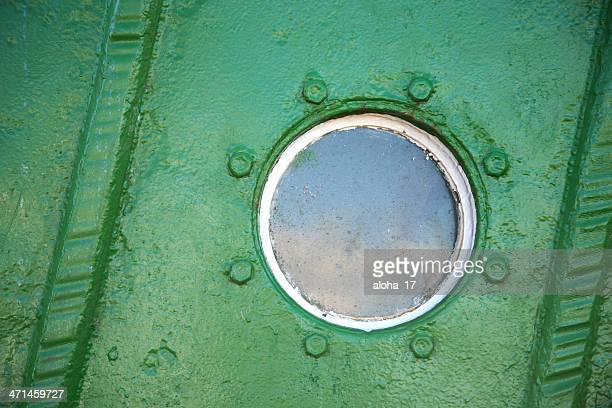 Porthole in a boat