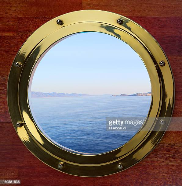 porthole - brass stock pictures, royalty-free photos & images