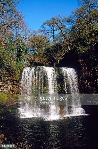 Porth-yr-Ogof waterfall, Powys, Wales
