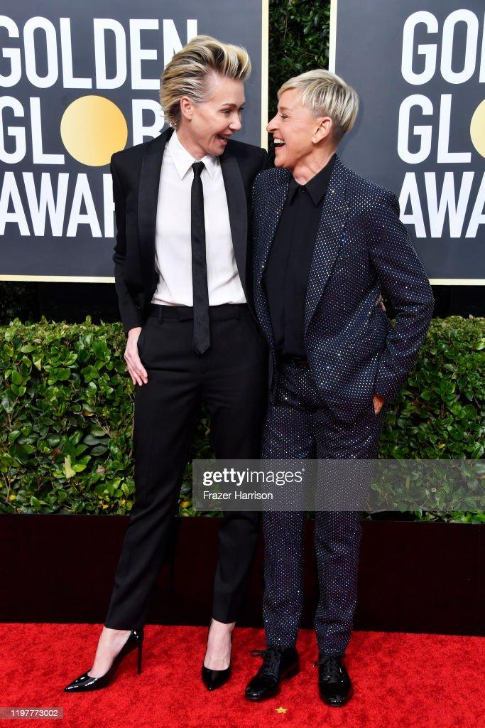 77th Annual Golden Globe Awards - Arrivals : ニュース写真