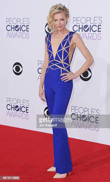 Portia de Rossi arrives at The 41st Annual People's Choice Awards at Nokia Theatre LA Live on January 7 2015 in Los Angeles California