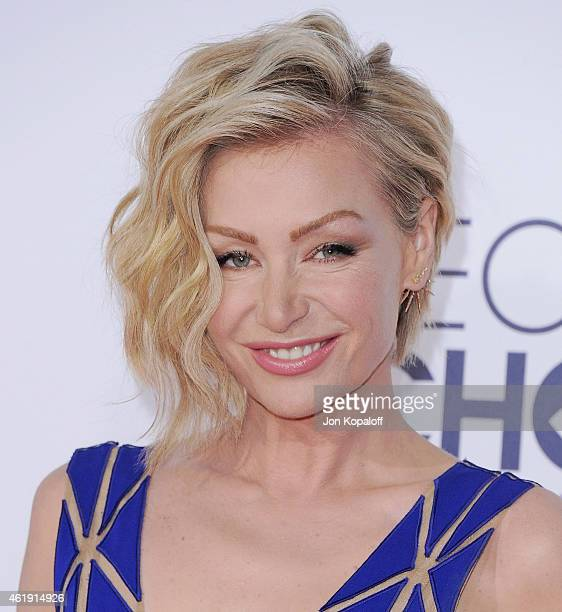 Portia de Rossi arrives at The 41st Annual People's Choice Awards at Nokia Theatre L.A. Live on January 7, 2015 in Los Angeles, California.