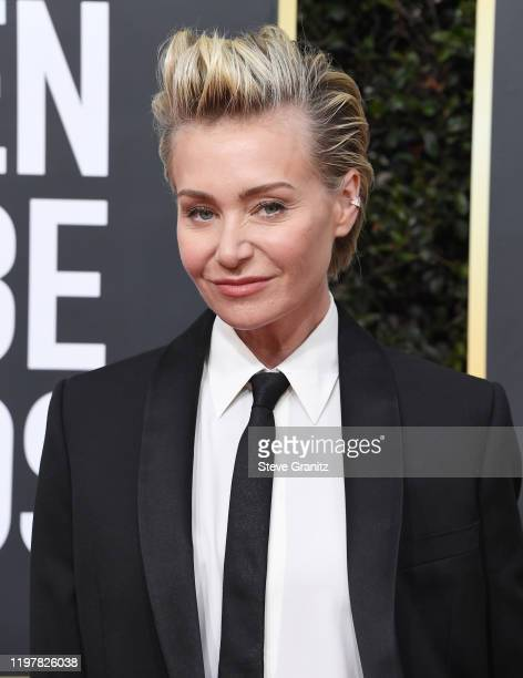 Portia de Rossi arrives at the 77th Annual Golden Globe Awards attends the 77th Annual Golden Globe Awards at The Beverly Hilton Hotel on January 05...