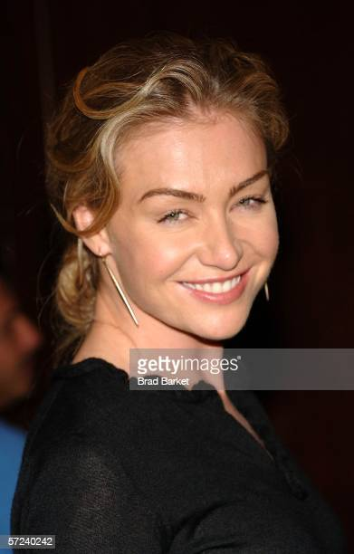 Portia de Rossi arrives to the Women In Communication Inc 2006 Matrix Awards at the Waldorf Astoria Hotel on April 3 2006 in New York City