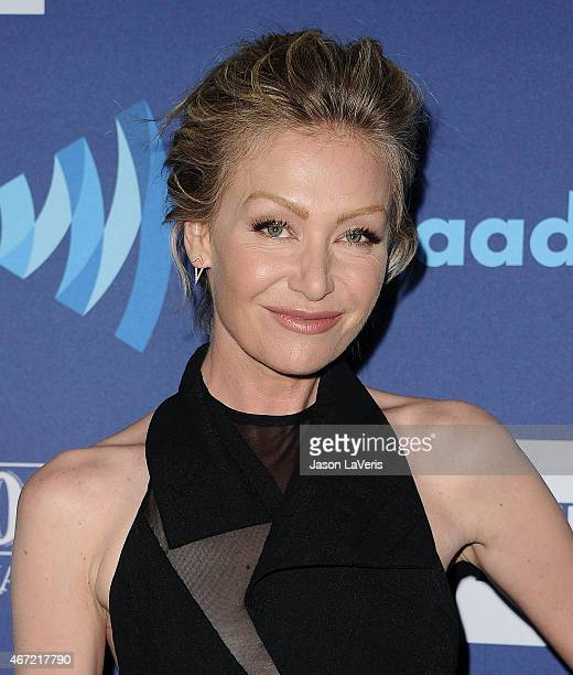 Portia de Rossi attends the 26th annual GLAAD Media Awards at The Beverly Hilton Hotel on March 21 2015 in Beverly Hills California
