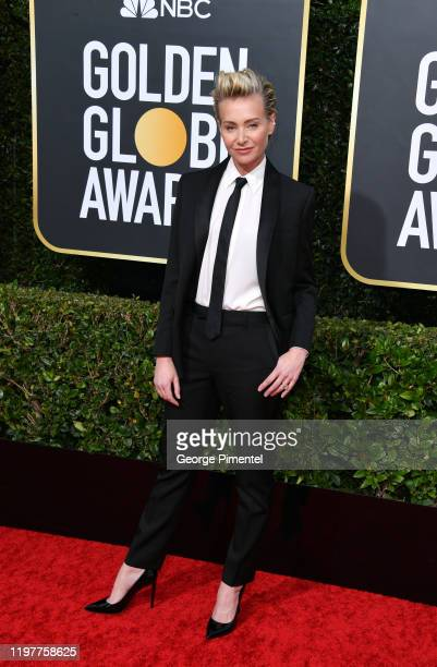Portia de Rossi attends the 77th Annual Golden Globe Awards at The Beverly Hilton Hotel on January 05 2020 in Beverly Hills California