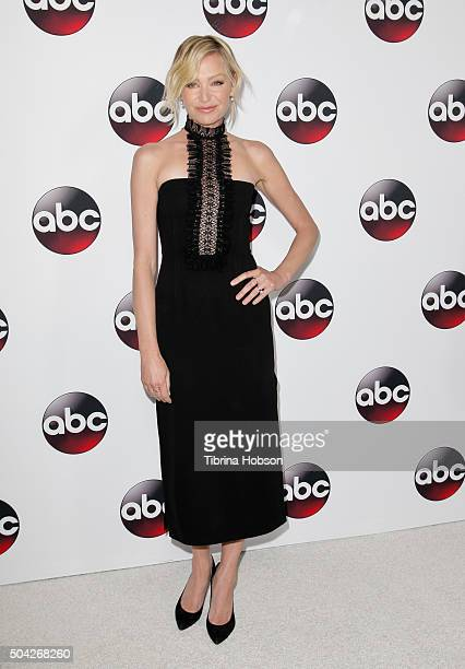 Portia de Rossi attends the Disney/ABC 2016 Winter TCA Tour at Langham Hotel on January 9 2016 in Pasadena California