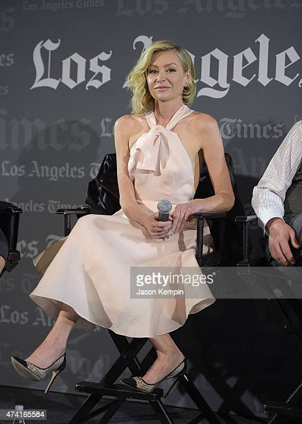 Portia de Rossi attends the Los Angeles Times Envelope Screening of Scandal at ArcLight Sherman Oaks on May 20 2015 in Sherman Oaks California
