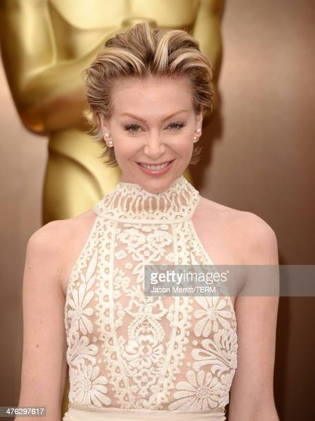 Portia de Rossi attends the Oscars held at Hollywood Highland Center on March 2 2014 in Hollywood California