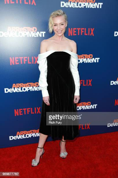 Portia de Rossi attends the premiere of Netflix's Arrested Development Season 5 at Netflix FYSee Theater on May 17 2018 in Los Angeles California