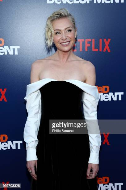 """Portia de Rossi attends the premiere of Netflix's """"Arrested Development"""" Season 5 at Netflix FYSee Theater on May 17, 2018 in Los Angeles, California."""