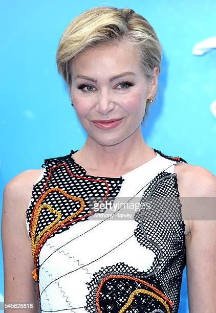 Portia de Rossi attends the UK Premiere of 'Finding Dory' at Odeon Leicester Square on July 10 2016 in London England