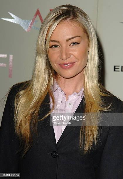 Portia de Rossi during 2004 AFI Awards Luncheon at Four Seasons in Beverly Hills California United States