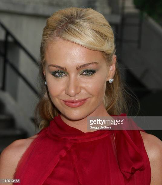 Portia de Rossi during 2004 Fox AllStar Party at 20th Century Fox Studios in Los Angeles California United States