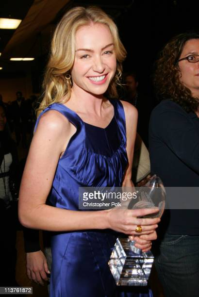 Portia de Rossi during 32nd Annual People's Choice Awards Backstage at The Shrine in Los Angeles California United States