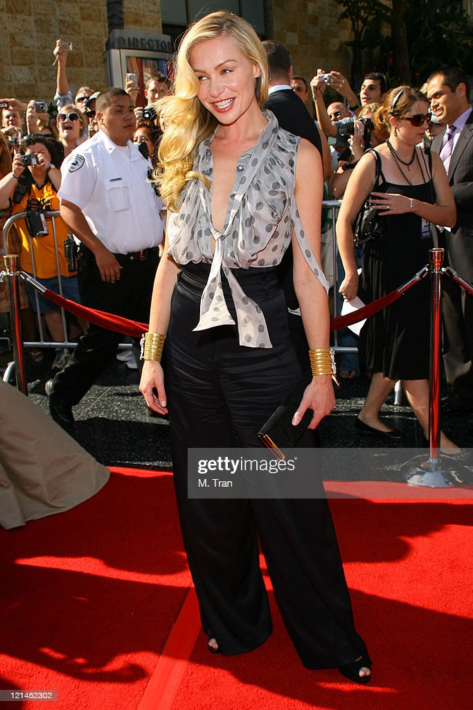 Portia de Rossi during 34th Annual Daytime Emmy Awards - Arrivals at Kodak Theatre in Hollywood, California, United States.