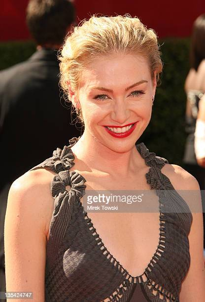 Portia de Rossi during 58th Annual Primetime Emmy Awards Arrivals at Shrine Auditorium in Los Angeles California United States