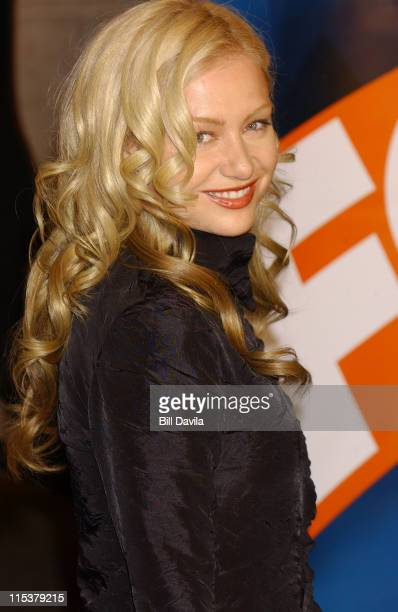Portia De Rossi during FOX TV Network 2003 2004 UpFront Party at Ciprianis at Grand Central Station in New York City New York United States