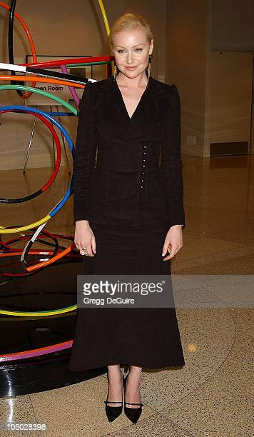 Portia de Rossi during The 2003 National Cable Telecommunications Assn Press Tour Day One at Renaissance Hotel in Hollywood California United States