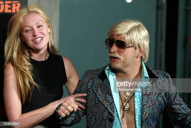 Portia de Rossi Johnny Flava during Camp Freddy Performs Live At Blender Sessions at Ivar in Hollywood CA United States