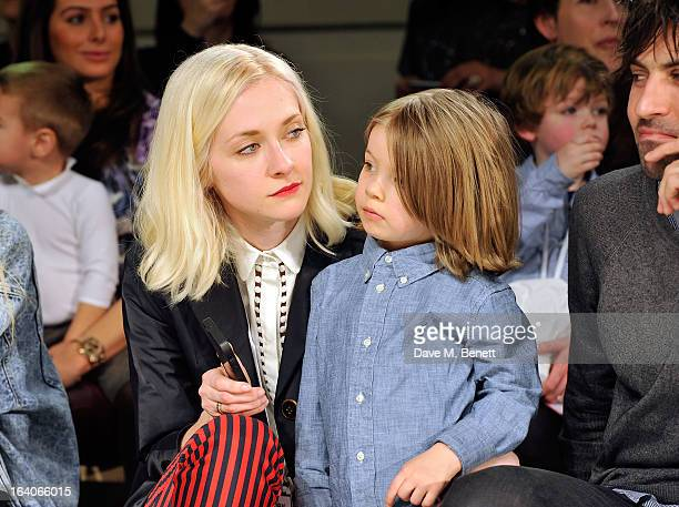 Portia Freeman attends the Global Kids Fashion Week AW13 media and VIP show at The Freemason's Hall on March 19 2013 in London England