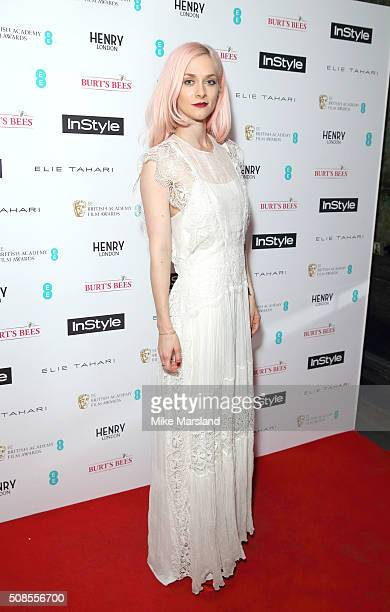 Portia Freeman attends the InStyle EE Rising Star PreBAFTA Party at 100 Wardour Street on February 4 2016 in London England