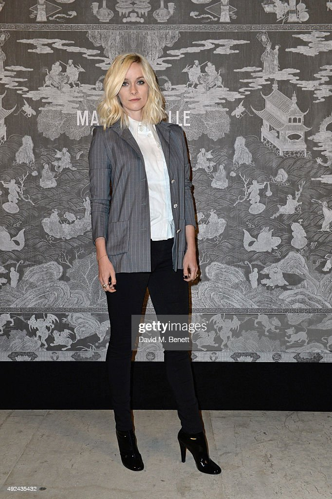 Portia Freeman attends the Mademoiselle Prive Exhibition at the Saatchi Gallery on October 12, 2015 in London, England.