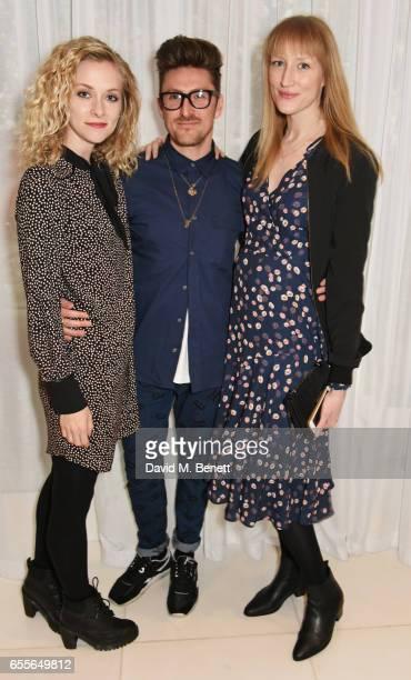 Portia Freeman Henry Holland and Jade Parfitt attend the Debenhams Summer 17 Salon Show with global supermodel Helena Christensen and Emma Willis...