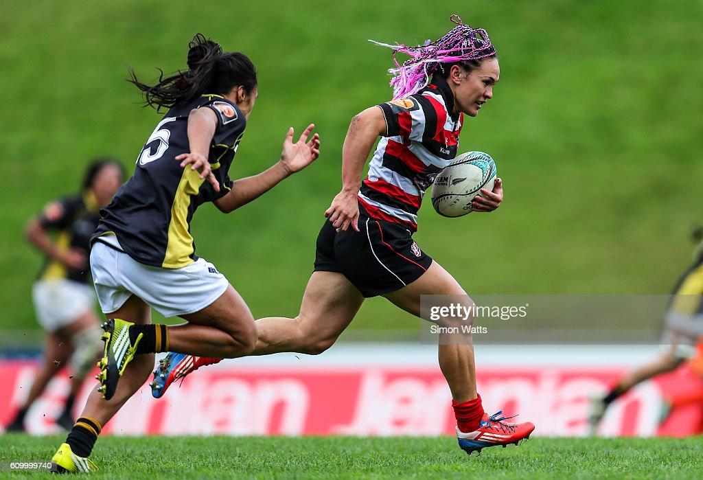 Farah Palmer Cup Semi Final - Counties Manukau v Wellington