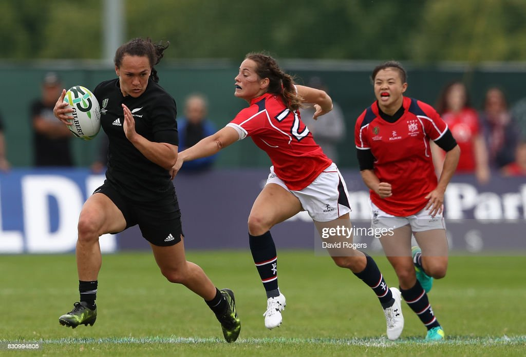 New Zealand v Hong Kong - Women's Rugby World Cup 2017 : Photo d'actualité
