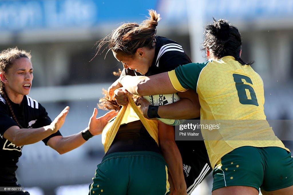 New Zealand Black Ferns v Australia Wallaroos