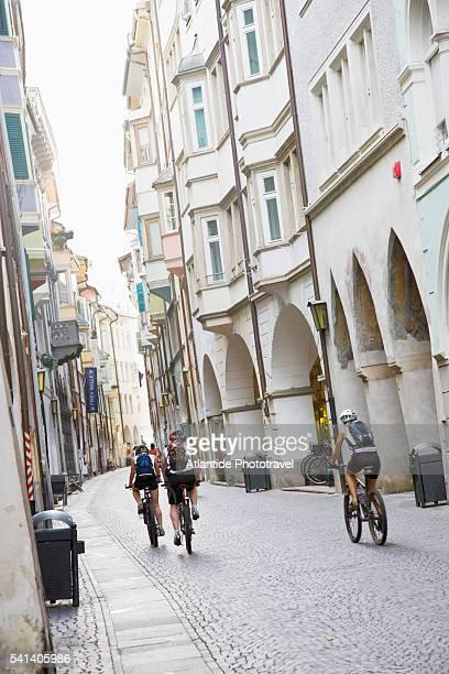 Portici street in Bolzano