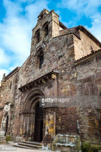 Portico of the Church of the Franciscan Fathers in Avilés, Asturias