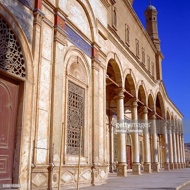 Portico of the Mosque of Muhammad Ali Pasha in Cairo