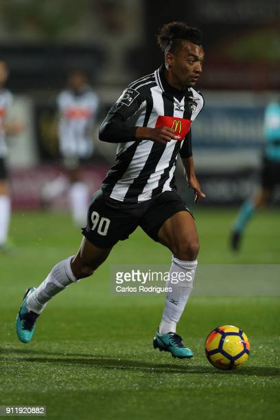 Portimonense forward Fabricio from Brazil during the match between Portimonense SC and Rio Ave FC for the Portuguese Primeira Liga at Portimao...