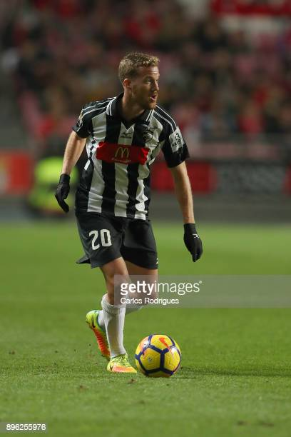 Portimonense midfielder Oriol Rosell from Spain during the match between SL Benfica and Portimonense SC for the Portuguese Cup at Estadio da Luz on...