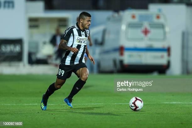 Portimonense SC forward Bruno Tabata from Brazil during the Portimonense SC v FC Porto PreSeason Friendly match at Estadio Municipal de Portimao on...